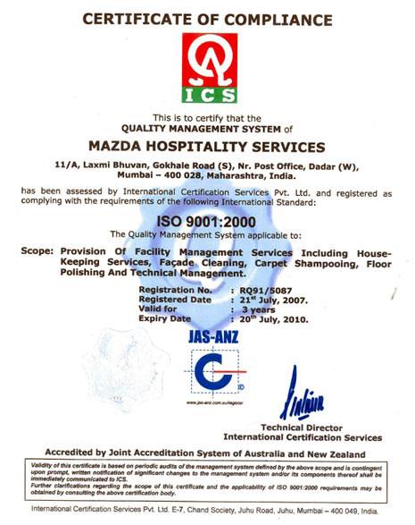 Mazda Hospitality Services, Facade Cleaning Mumbai, House Keeping ...